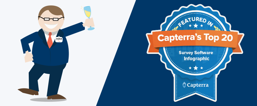 CheckMarket in Capterra's Survey Software Top 20