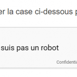 CheckMarket enquête captcha exemple